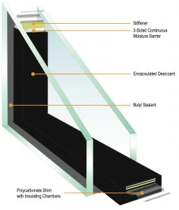 The Duralite Spacer in Kento windows helps seal in argon, seal out extreme temperatures, and protect your home.