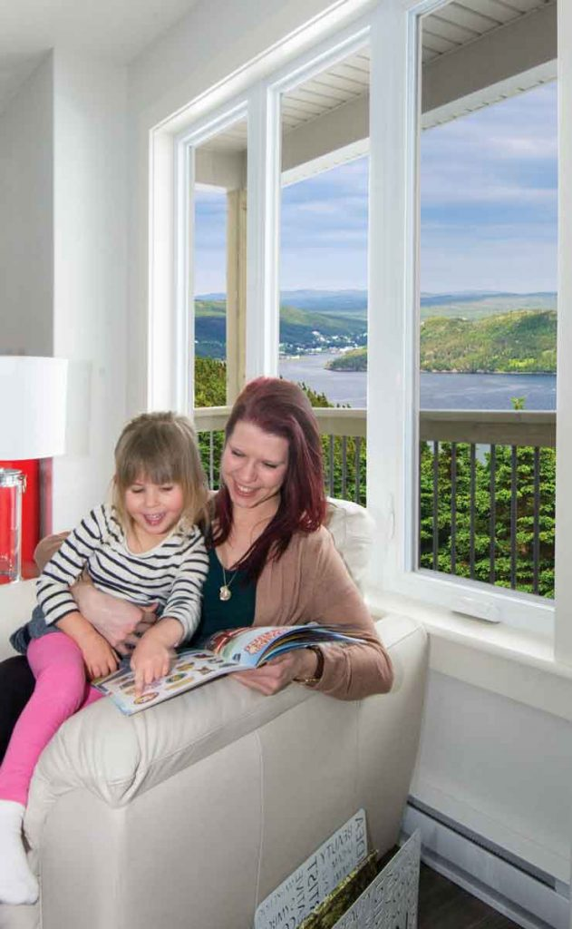 Kento casement windows can brighten your family's world