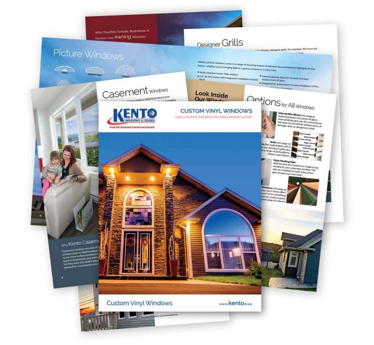 Kento Windows Brochure
