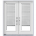 Double Doors with Blinds