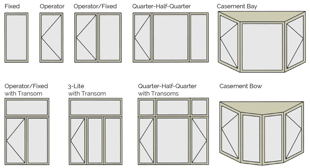 Casement Windows Kento Windows And Doors