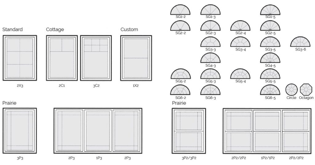 Kento has window grills to suit any shape and style
